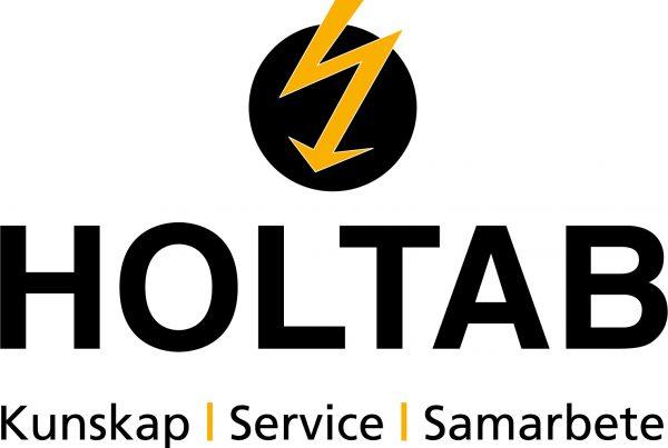 Holtab logo och payoff