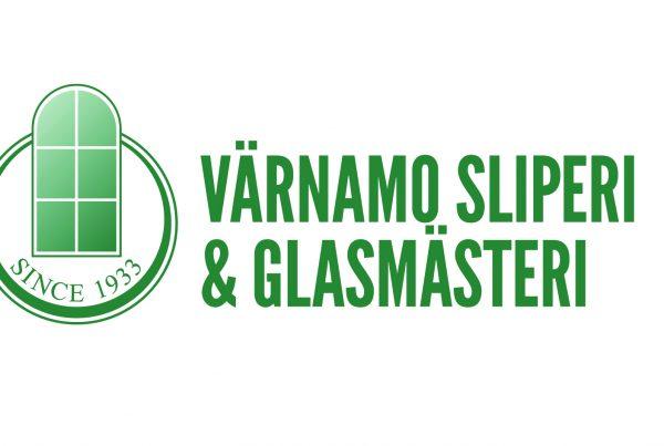 Logotyp Värnamo Sliperi och Glasmästeri
